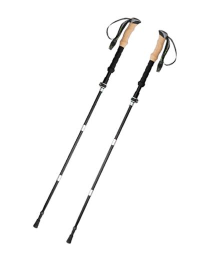 厂家直销供应优质舒适的登山杖软木手柄拐杖