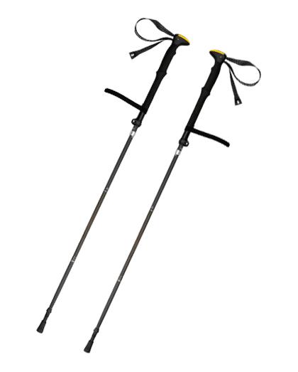 厂家直销供应优质EVA手柄伸缩登山杖铝合金扭锁行走登山杖