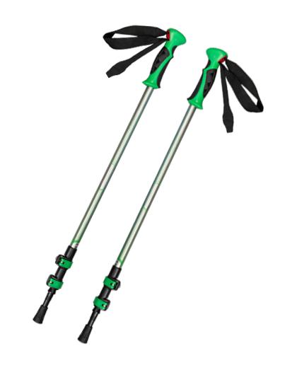 厂家直销供应优质铝合金EVA提速锁登山杖伸缩可调登山杖