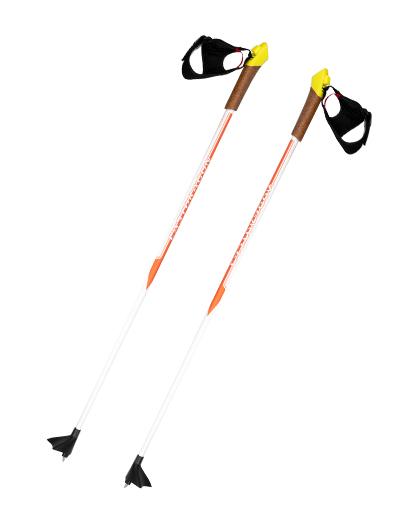 厂家直销供应优质高品质铝合金越野滑雪杖,带软木手柄