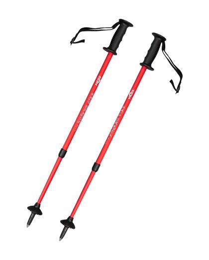 厂家直销供应优质1节带橡胶手柄的铝制滑雪杖