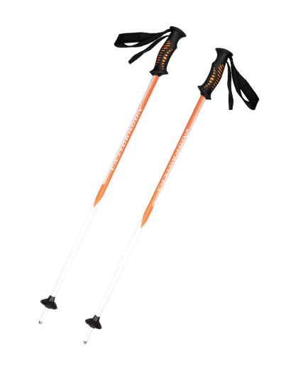 供应优质塑料+软木手柄铝制滑雪杖