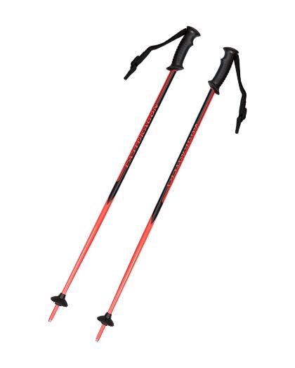 供应优质碳纤维加热的滑雪杖轻巧的北欧滑雪杖,带软木手柄