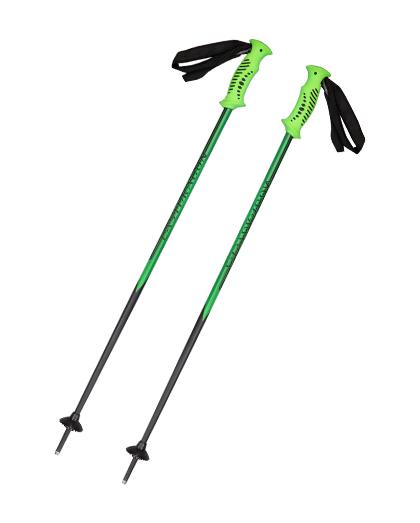 供应优质冬季运动加热的滑雪杖定制北欧滑雪杖