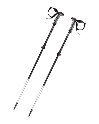 供应优质高品质超轻铝合金登山杖3节速锁伸缩登山杖