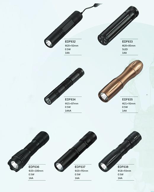大功率强光铝合金LED手电筒