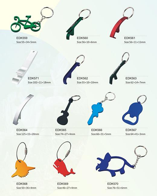 供应优质广告促销礼品自行车钥匙扣/金属开瓶器